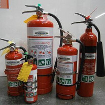 Fire Extinguishers - Fire Equipment HB
